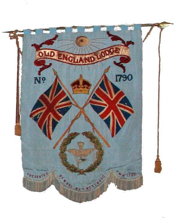 Old England Banner